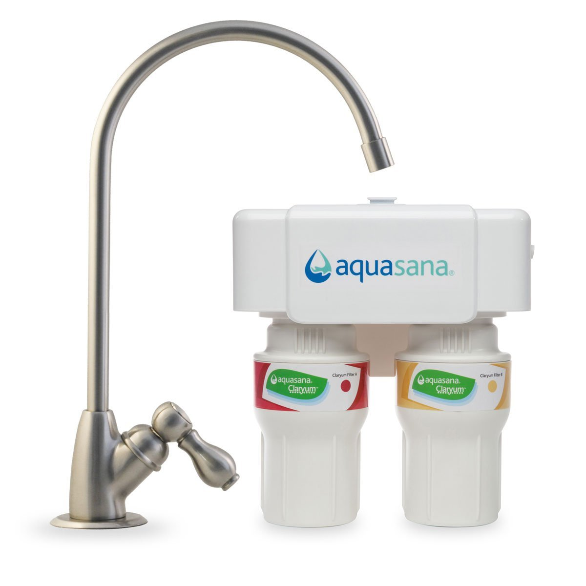 The Aquasana AQ 5200.55 2 Stage Under Sink Filter System