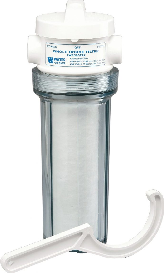 Best water filtration system for well water - The Watts Wh Ld Premier Whole House Filter System