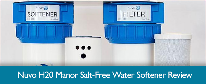 Nuvo H2o Manor Complete Salt Free Water Softening System
